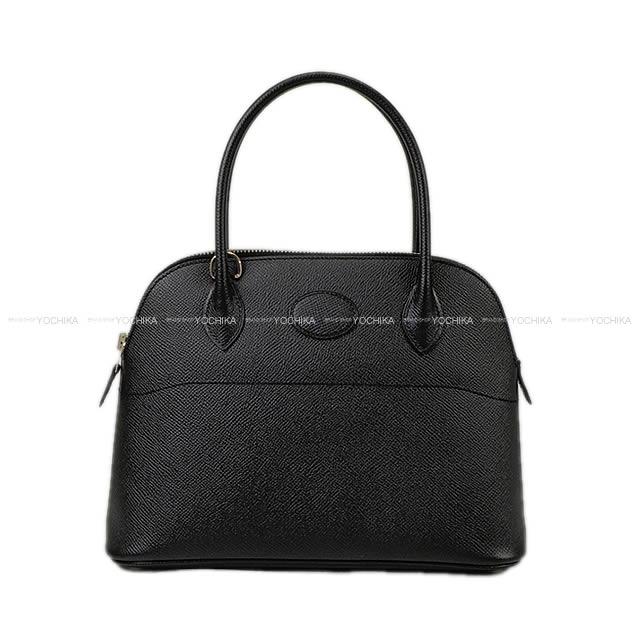 レディースバッグ, ショルダーバッグ・メッセンジャーバッグ HERMES 27 () (HERMES Bag Bolide 27 Noir Black Epsom Silver Hardware Brand NewAuthentic)