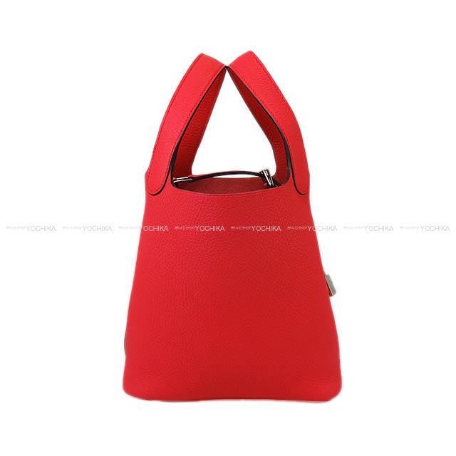 レディースバッグ, ハンドバッグ HERMES 18 PM () (Hermes handbags Picotin Lock 18 PM Rose Extreme Taurillon Clemence Brand NewAuthentic)