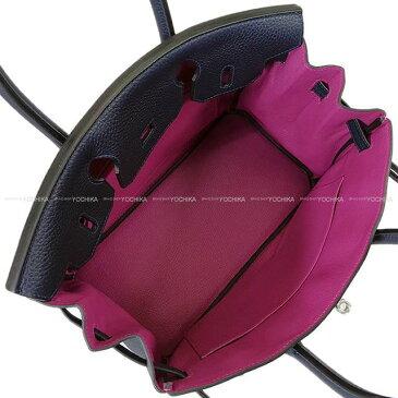 HERMES エルメス ハンドバッグ バーキン30 ヴェルソ ブルーニュイXローズパープル トリヨン シルバー金具 新品 (HERMES handbag Birkin30 Verso Bleu nuit/Rose Purple Taurillon Clemence SHW [Brand New][Authentic])【あす楽対応】#よちか