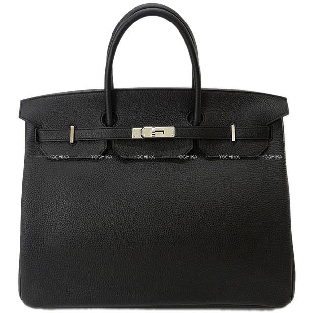 レディースバッグ, ハンドバッグ HERMES 40 () (HERMES Handbags Birkin40 Noir(Black) Togo SHWExhibisionAuthentic)