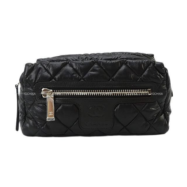 レディースバッグ, クラッチバッグ・セカンドバッグ CHANEL ()X A48615 (COCO Cocoon Second Bag Clutch Pouch BlackBordeaux Nylon SHW)