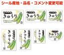 ヨドヤ包装シールShopで買える「【果菜・カスタマイズ可能】きゅうりシール【商品の販売応援/野菜・果物・ラッピング】」の画像です。価格は70円になります。