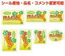 ヨドヤ包装シールShopで買える「【根菜・カスタマイズ可能】にんじんシール【商品の販売応援/野菜・果物・ラッピング】」の画像です。価格は70円になります。