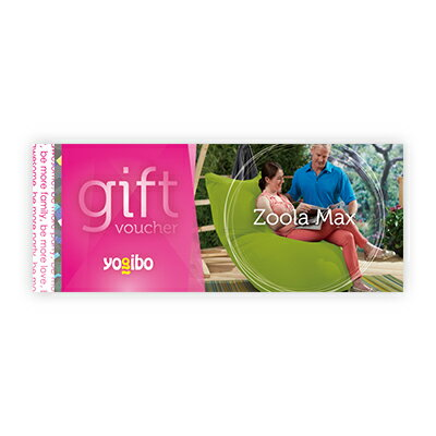 Yogibo Zoola Max ギフト券 / ヨギボー【ビーズクッション プレゼント 贈り物 記念品】【分納の場合有り】