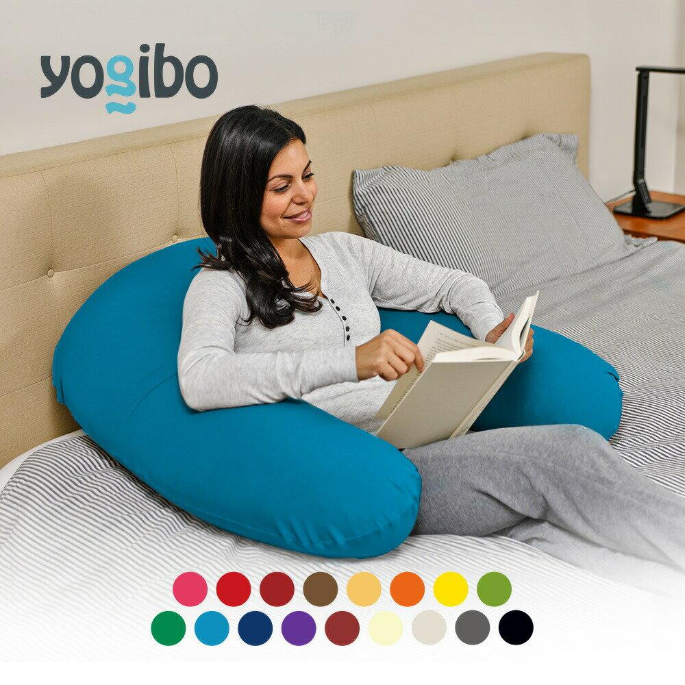 Yogibo Support (ヨギボー サポート) 背もたれクッション 座椅子 サポート 妊婦クッション U字 ビーズクッション 背もたれ 抱き枕 カバーを洗えて清潔 リモートワーク チェア