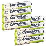 送料無料 ニッケル水素充電池 単4形 Camelion NH-AAA900ARBC4(単4/4本入×2 8本セット)
