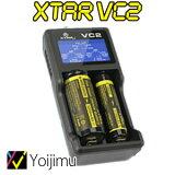 送料無料 リチウム電池用充電器USB電源専用の2スロット充電器 VC2
