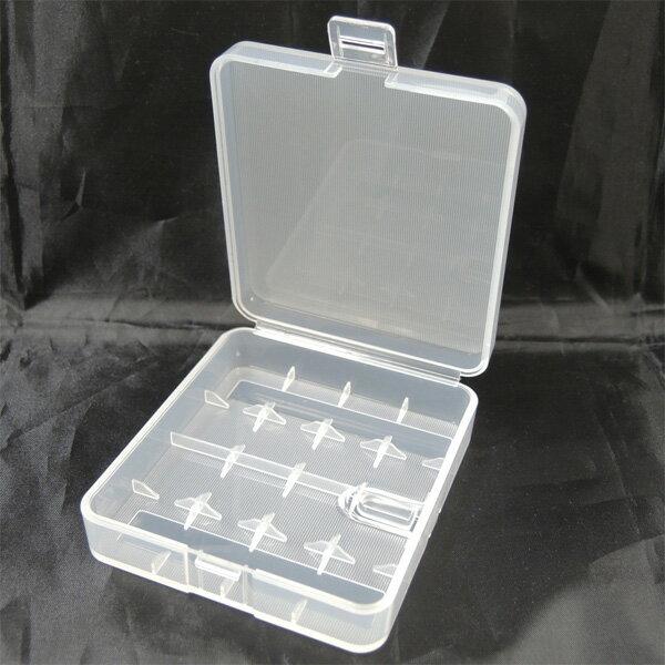 電池ケース 18650×4本 18650電池が4本収納可能! 持ち運び便利