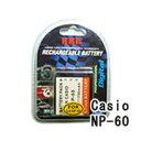 ネコポス発送カシオ(CASIO) NP-60 デジカメ用 互換バッテリー