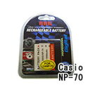 ネコポス発送カシオ(CASIO) NP-70 デジカメ用 互換バッテリー