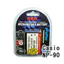 ネコポス発送カシオ(CASIO) NP-90 デジカメ用 互換バッテリー