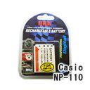 ネコポス発送カシオ(CASIO) NP-110 デジカメ用 互換バッテリー