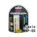 ネコポス発送 カシオ(CASIO) NP-50 デジカメ用 互換バッテリー