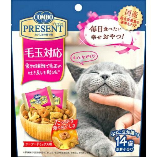 日本ペットフードコンボプレゼントキャットおやつ毛玉対応(14袋)