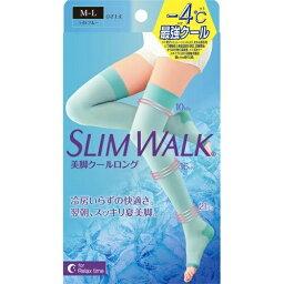 【送料込・まとめ買い×4個セット】ピップ スリムウォーク SLIM WALK 美脚クールロング M-L