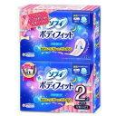 ユニチャーム ソフィ ボディフィット ナイトガード 12枚×2個入 ( 計24枚 ) ( 夜用 羽なし 生理用ナプキン )