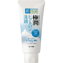 【送料無料】ロート 肌研 極潤 ヒアルロン洗顔フォーム 100g 1個