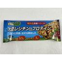 【×10本 メール便送料込】丸藤 大豆レシチン&プロテインバー ザクっと食感ベリー入り 黒糖味