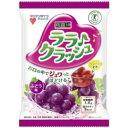 【送料無料】マンナンライフ 蒟蒻畑 ララクラッシュ ぶどう味 24g×8個入 1袋
