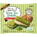 【送料無料・まとめ買い12個セット】アサヒ クリーム玄米ブラン 抹茶のブラウニー 1枚×2袋