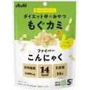 【メール便送料込】アサヒ リセットボディ もぐカミ ファイバー こんにゃく うま塩チキン味 25g