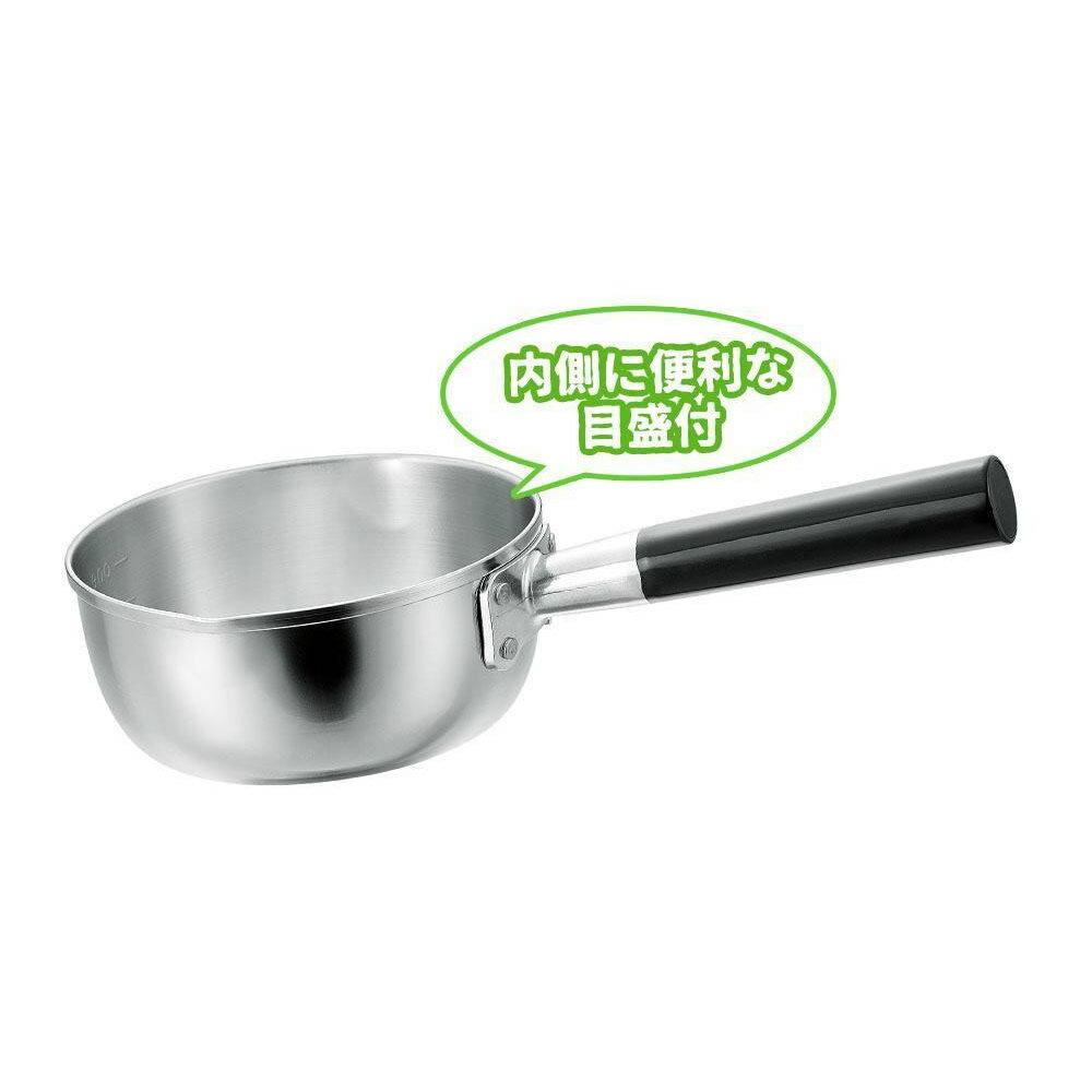 日本製 プロ仕様 三層鋼 行平鍋 16cm オール熱源対応 H-2902