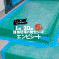 エムエフMFエンビシート1.2平ツヤ緑5本厚み1.2mm1000mm×20m養生シート塩ビシートフラットタイプ床