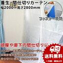養生カーテンリフォームカーテン(1枚/バラ)幅2000mm×高さ2800mm【送料無料】空調節電対策|防塵|部屋の間仕切