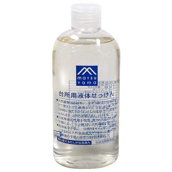 松山油脂 Mマーク 台所用液体せっけん 300mL