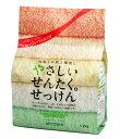 柔軟剤なしでもふっくらミヨシ石鹸 やさしいせんたく せっけん 1.2kg(粉石けん) ★合計3150円...