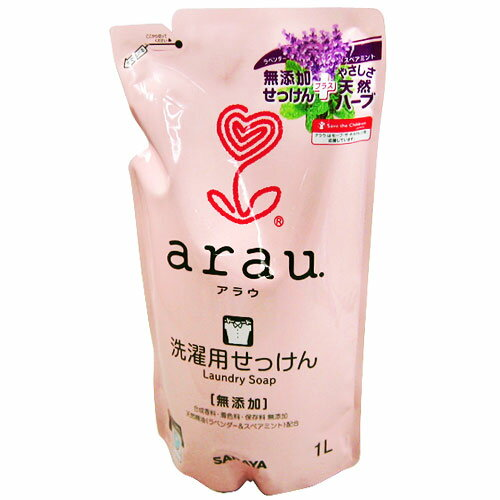arau. (Arau) for laundry SOAP (liquid) refill for 1 l ★ total 1980 yen or more at ★