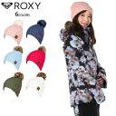 ROXY ロキシー ビーニー ニット帽 スノーボード レディース ウェ...