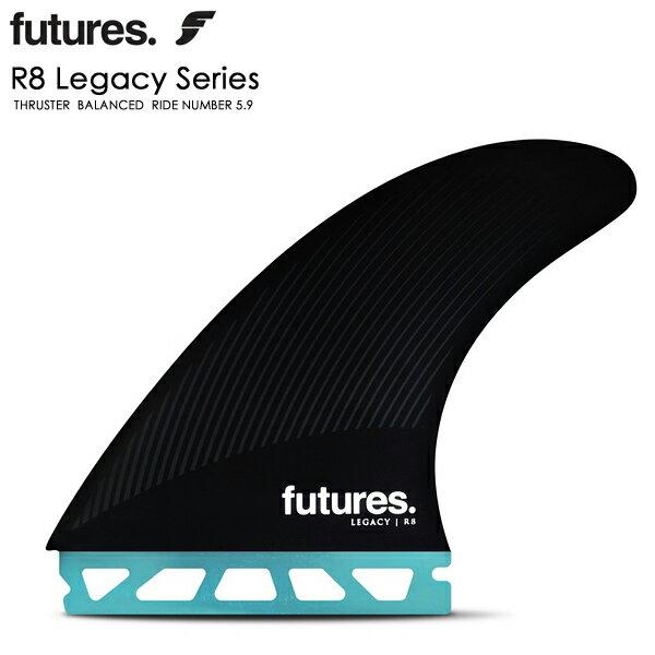 サーフィン・ボディボード, ボードフィン FUTURES FIN LEGACY R8 RTM HEX