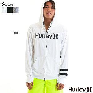 ハーレー ラッシュガード メンズ 長袖 水着 UVカット パーカー UPF50+