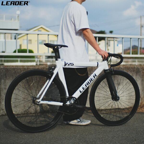 自転車・サイクリング, ピストバイク LEADER BIKE 725TR COMPLETE BIKE