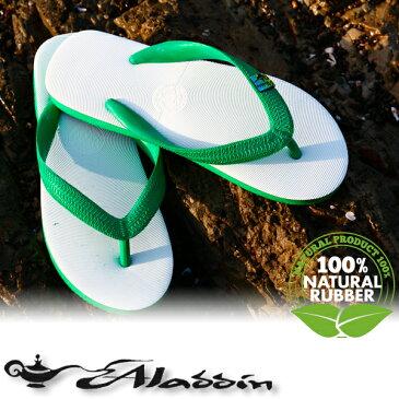 アラジン サンダル ビーチサンダル ビーサン メンズ レディース Aladdin Sandals South Sea グリーン/緑