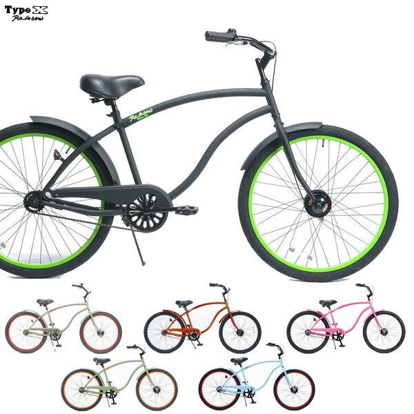 自転車・サイクリング, ビーチクルーザー  RAINBOW TYPE-X 6