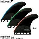 【楽天市場】フューチャー フィン JOHN JOHN TECH FLEX2.0 SIGNATURE TRI FINS (3 FINS) 01005131RT2JJS-M-L S,M,L 全3色,3サイズ:THE USA SURF ONLINE STORE