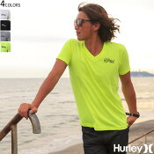 HurleyハーレーTシャツメンズ半袖VネックTeeロゴORIGINALVOILERS4色バリ