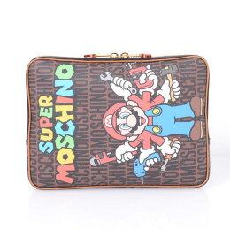 モスキーノ(Moschino)13インチPCケースマリオシリーズブラウン