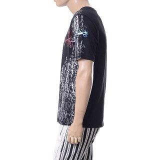 ハイダーアッカーマン(HaiderAckermann)Tシャツブラックwearealldust