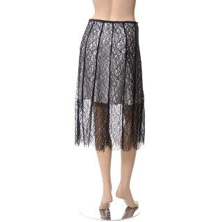 シャロンワコブ(sharonwauchob)総レースタック使いスカートオリジナルレースブラック