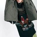 アントニオマラス 貴婦人の乗馬ロングセーター ウールミックス ブラック