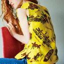 コーヘン (Coohem) ロゴ入りノースリセーター コットン イエロー1019202822 2019SS レディース春夏新作 送料無料 正規取扱