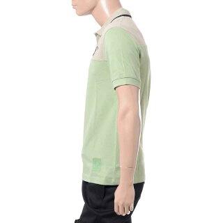 ラフシモンズフレッドペリー(RafSimonsFredPerry)イニシャル刺繍ポロシャツコットンバジル