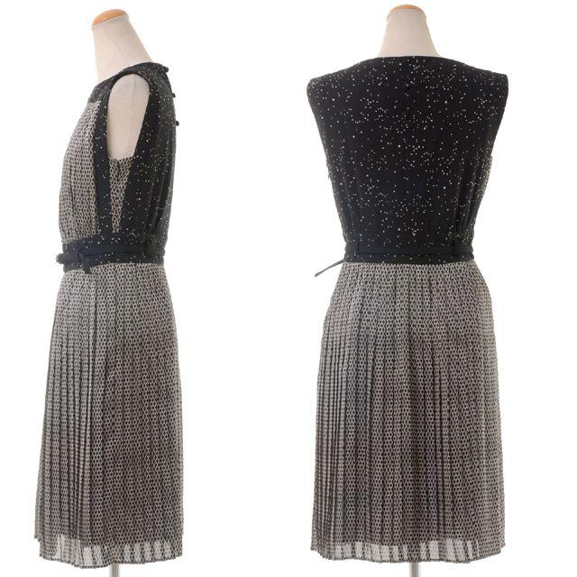 アントニオマラス (ANTONIO MARRAS) プリントプリーツドレス anv33 10,800円以上購入で 【正規取扱】