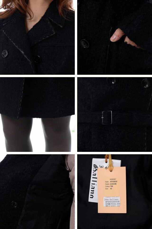 ジョンガリアーノ (John Galliano) ロングコート 10,800円以上購入で 【正規取扱】