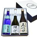 人気日本銘酒 飲み比べセット 720ml×3本 獺祭 磨き三...