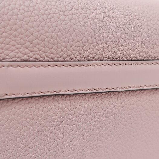 手数料安い ロエベ ゲートバッグ ミニ ソフトグレインカーフレザー ピンク 321.12.U62 ショルダー 横浜BLANC 人気が高い -aguacateve.net