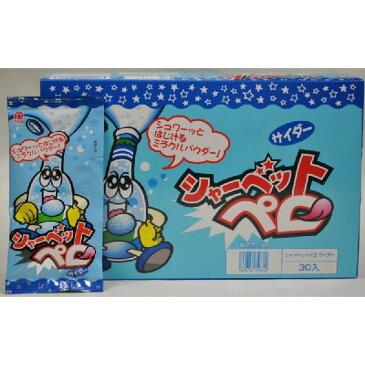 パイン株式会社 シャーベットペロ サイダー味 【30袋入り】
